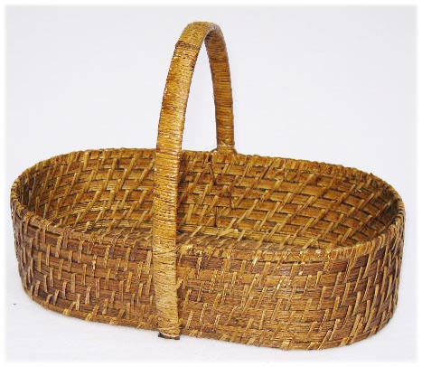Rattan bread basket